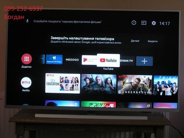 Телевізор Smart,Android,4K Philips 43PUS7304/12 новий