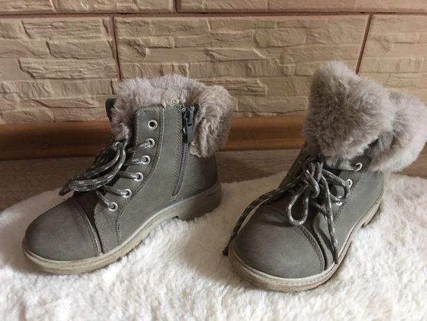 Buty / kozaczki jesień zima dziewczęce 30