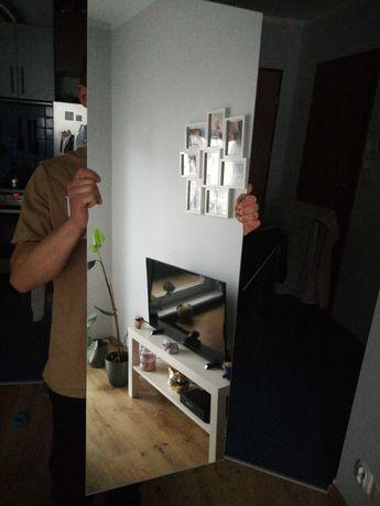 Lustro bez ramy 120x40