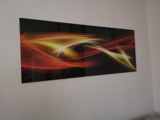 Obraz glasspick abstrakcja 125x50cm
