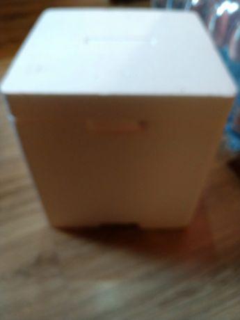 Pudełko styropianowe, pojemnik termiczny, lodówka 30x30x30 2 szt