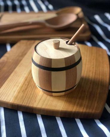 Боченок для меда деревянный