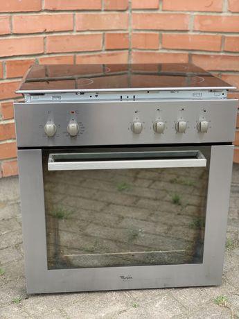 Духовой шкаф с варочной поверхностью whirlpool/духовка/електродуховка