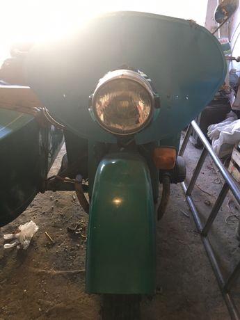 Урал М67 с коляской +рама и запчасти