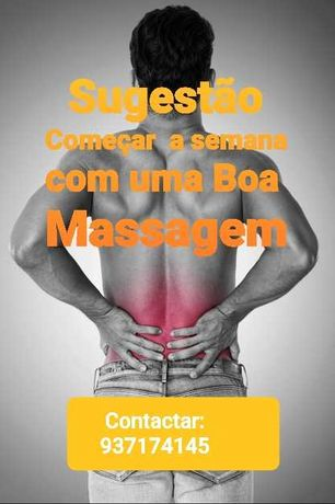 Massagens de Tratamento e relaxamento