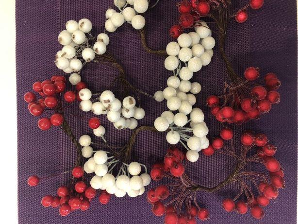 Материалы для творчества и декора ягодки в сахаре ягоды