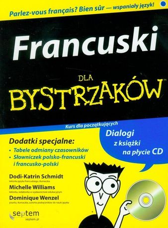 Francuski dla bystrzaków z płytą CD