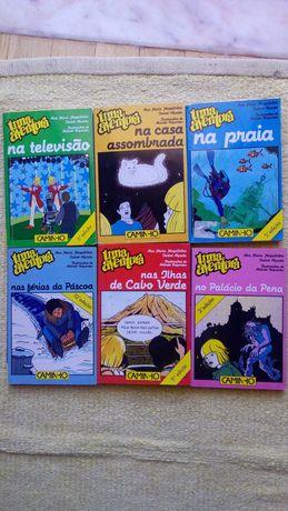 Livros da coleção Uma Aventura