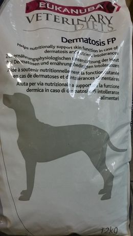 EUKANUBA Veterinary Diets Dermatosis FP dla psów worek 12kg