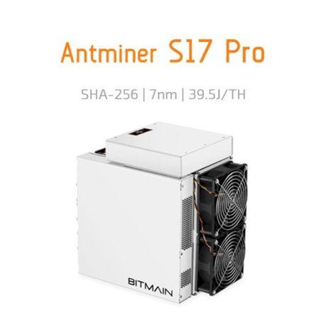 Bitmain Antminer S17 Pro 72Th/s + 8050€/Ano