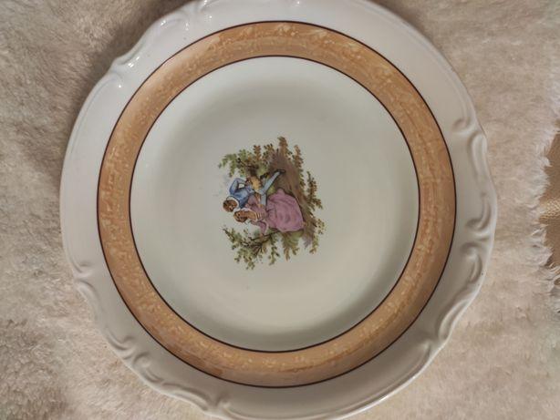 Talerz porcelana Chodziez