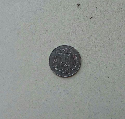 Продам монету 1 копейка 1992 года