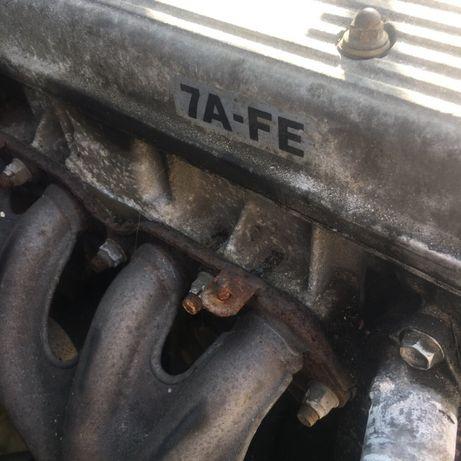 Silnik avensis 1.8 benzyna 110KM 7A FA , aparat zapłonowy, kolektor