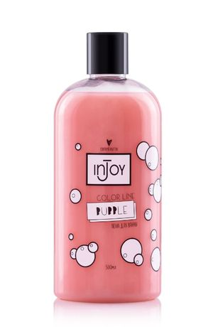 Піна для ванни InJoy Bath Foam Color Line Bubble