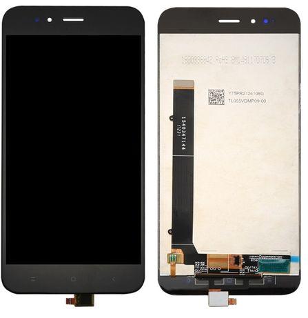 Ecrã (LCD Display + Touch) para Xiaomi Mi A1 / Mi 5X - Preto