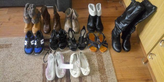 Buty damskie niektóre nowe