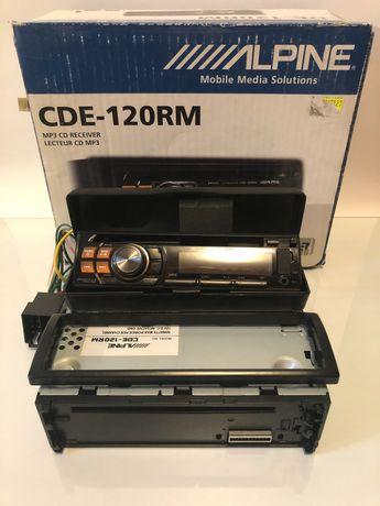 ALPINE CDE-120RM, radio samochodowe z CD