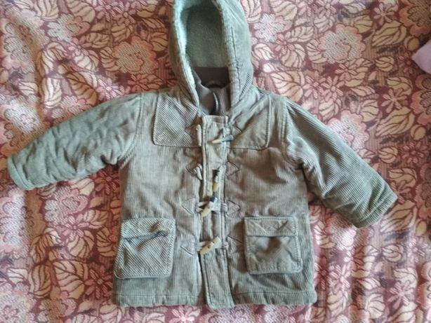 Тёплая курточка на мальчика