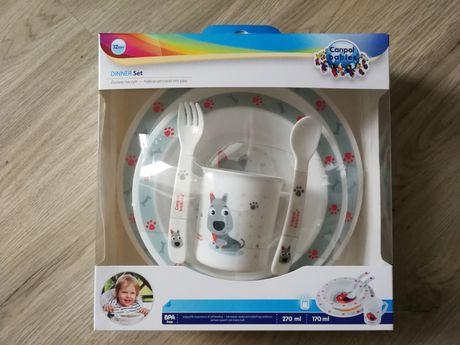 Canpol Babies Dinner Set zestaw naczyń