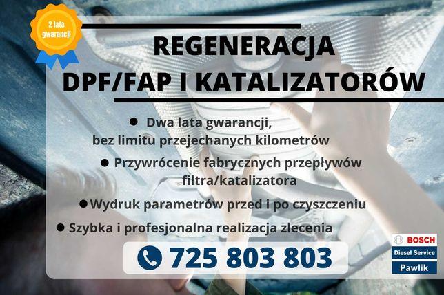 Filtr Cząstek DPF Volvo C30 C70 V50, 2.4 D5 / Regeneracja DPF Volvo