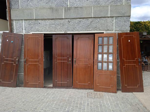 6 Portas madeira