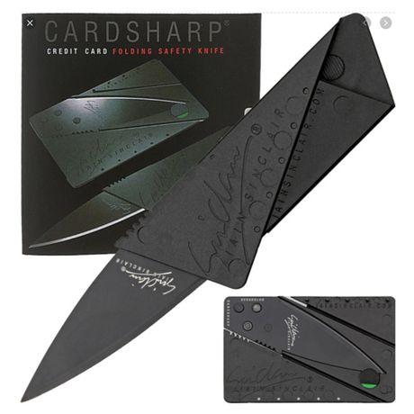 Раскладной нож кредитка