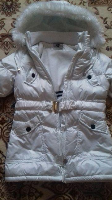 Зимнее пальто-пуховик на девочку BEST KID'S