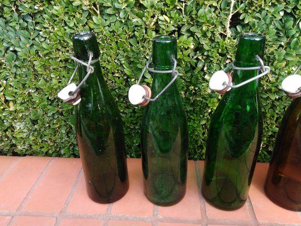 Stare butelki PRL