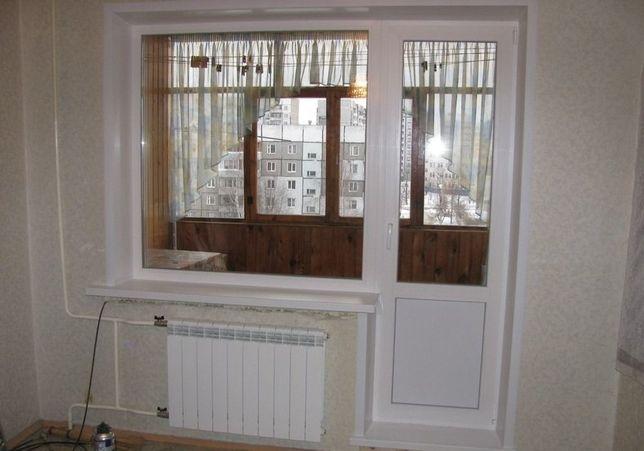 Балконный блок. Окна, двери, балконы. Акция!