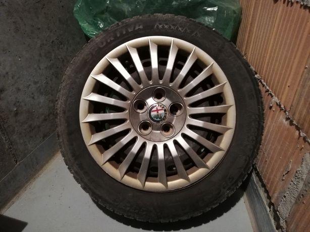 Felgi stalowe+ Opony zimowe SPORTIVA 205/55 R16 +kolpaki Alfa_Romeo