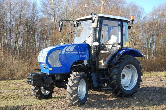 Ciągnik FARMTRAC 555 DTc, 48 KM, Rok produkcji: 2021