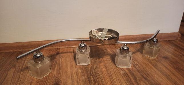 Piękna lampa 4x żarówki E14