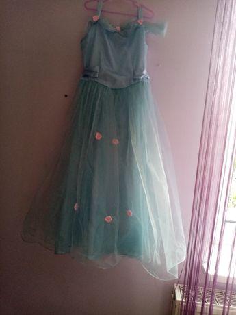 Sukienka księżniczki na bal karnawałowy
