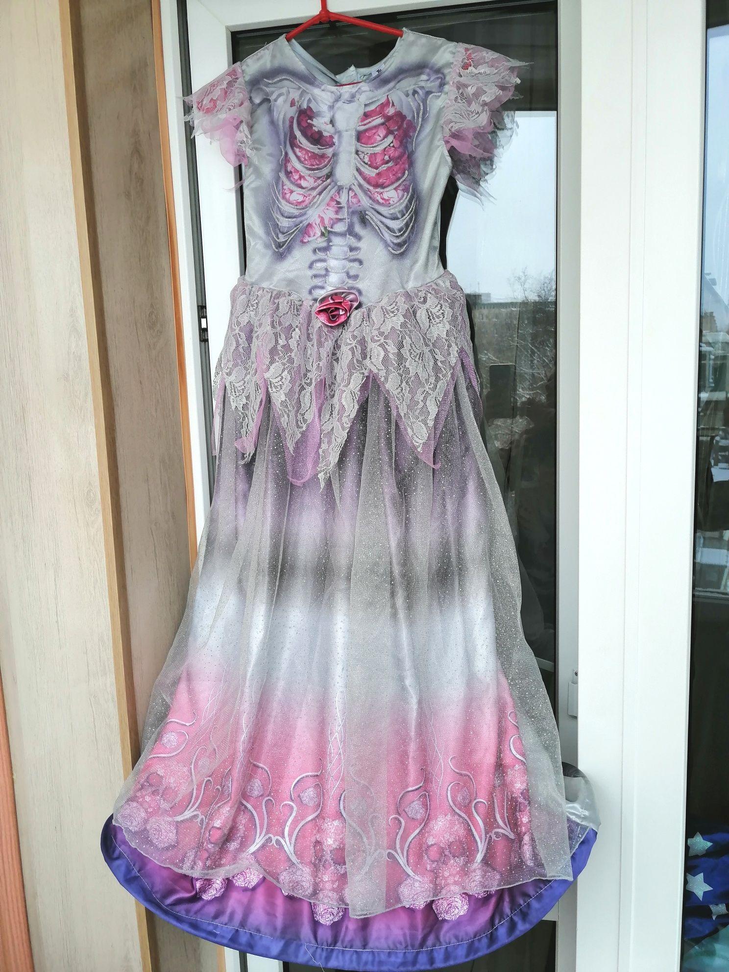 Платье скелет ведьмы монстер хай невеста трупа карнавальное новогоднее