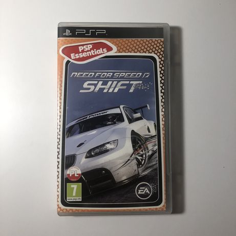Need for speed shift na PSP
