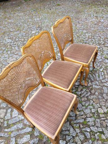 Krzesła antyczne do renowacji 12sztuk