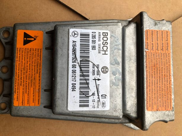 Sensor poduszek Moduł Mercedes Ml 164