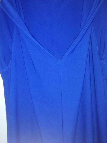 Туника для танцев синий бифлекс M