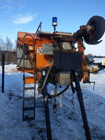 PIASKARKA EPOKE schmidt 3m3 zbiornik na solankę sterownik podpory KPL