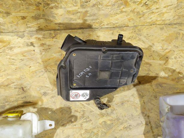 Корпус воздушного фильтра бачек отмывателя разборка jeep compass 2013
