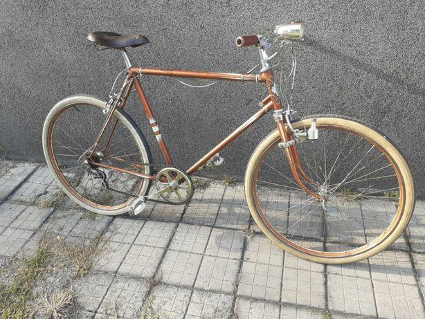 Stary rower NSU , szosa zabytkowy, , retro.