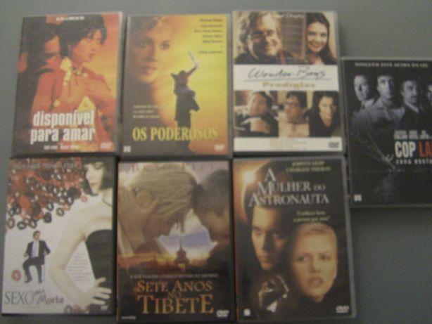 6 Filmes DVD COMO NOVOS!! Os Poderosos, Cop Land, Sexo até à morte Di