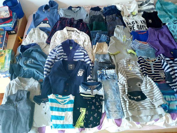 Mega paczka ubrań dla chłopca 59 sztuk ! Rozmiar 116,122,128