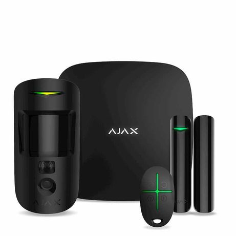 Сигнализация Ajax StarterKit Ajax StarterKit Cam Plus Hub 2 MotionCam