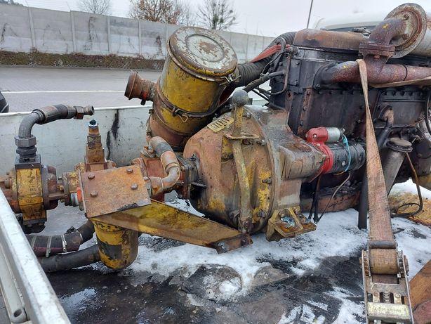 Silnik leyland sw 400 sprzęgło pompy Waryński chłodnica