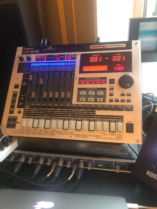 Сэмплер-грувбокс Roland MC-808 + Compact Flash Card 1Gb Киев - изображение 1