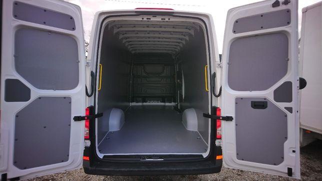Profesjonalna zabudowa samochodu dostawczego VW Crafter L5H3