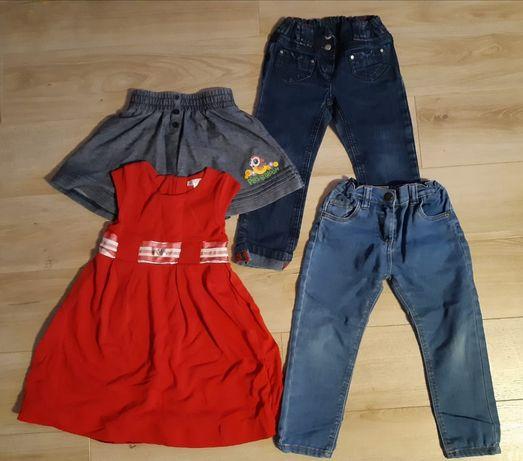 Zestaw markowych ubrań 98-104