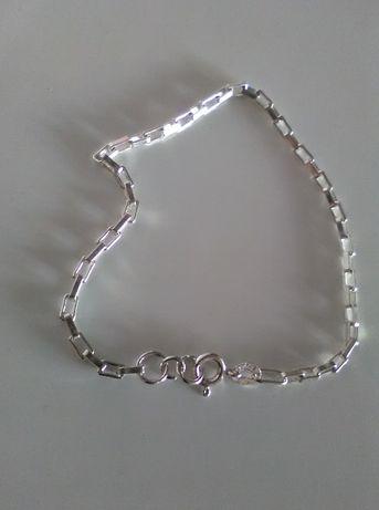 bransoletka łańcuszek srebro 925