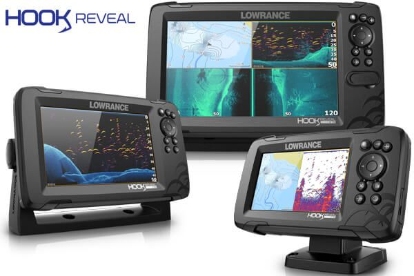 Эхолот Lowrance Hook REVEAL 7 9 Tripleshot 5 SplitShot Рисует Карты
